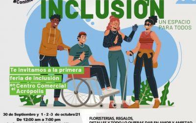 Viva la 'Expo Inclusión' en Acrópolis