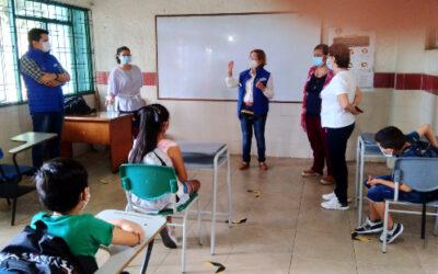 Colegio El Pilar incentiva el regreso a la presencialidad
