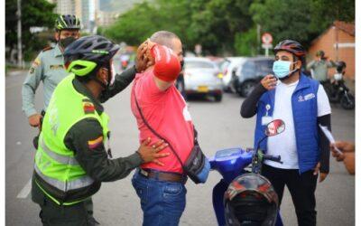 Con la estrategia 'Caballitos de Aceros BGA' se combate el delito en Bucaramanga