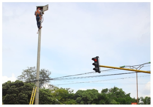 70% de las cámaras de seguridad de la ciudad están en funcionamiento