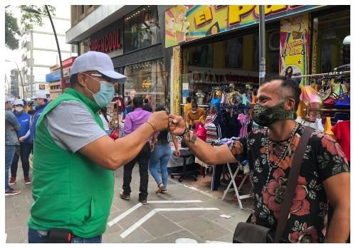 Alcaldía adelantará jornada de atención integral a vendedores informales