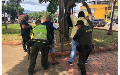 Así se combatió el delito durante el fin de semana en Bucaramanga