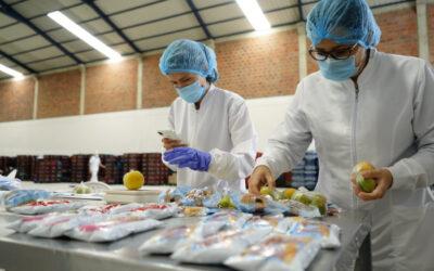 Estos son los productos del PAE que reciben los estudiantes en la modalidad ración industrializada