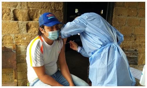 Así llegó la vacunación contra el Covid-19 para personas con discapacidad que viven en el campo