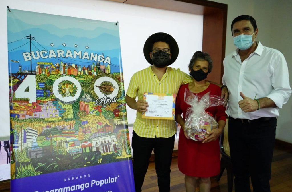 Conoce el afiche que acompañará los 400 años de Bucaramanga