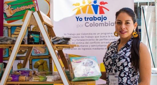 Participa de la Feria Empresarial del Programa 'Yo trabajo por Colombia'