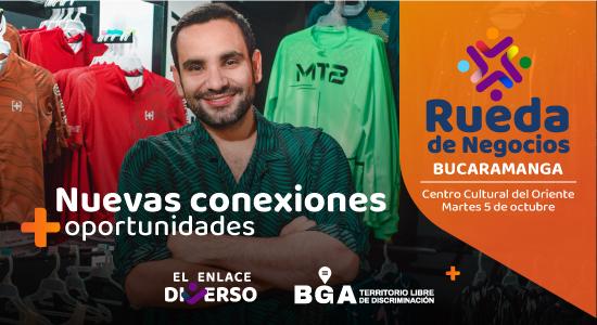 Bucaramanga tendrá la primer rueda de negocios  LGBTIQ+ del país