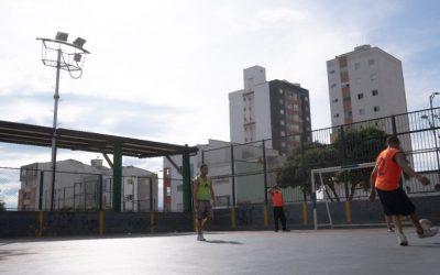 Con partidos de fútbol, los ciudadanos en habitabilidad de calle le apuestan por un mejor futuro