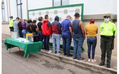 Golpe al tráfico de estupefacientes: Cayó la banda 'Los Machados'