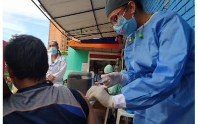 Jornada de vacunación este jueves y viernes, contra el Covid-19, en las plazas públicas