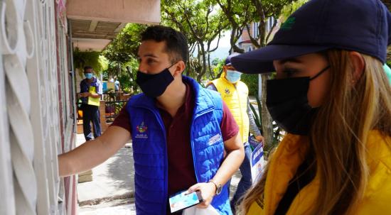 Se capacitó a la comunidad del barrio Estoraques sobre el reciclaje