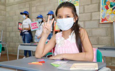 Colegios oficiales de Bucaramanga ya superan el 80% de presencialidad